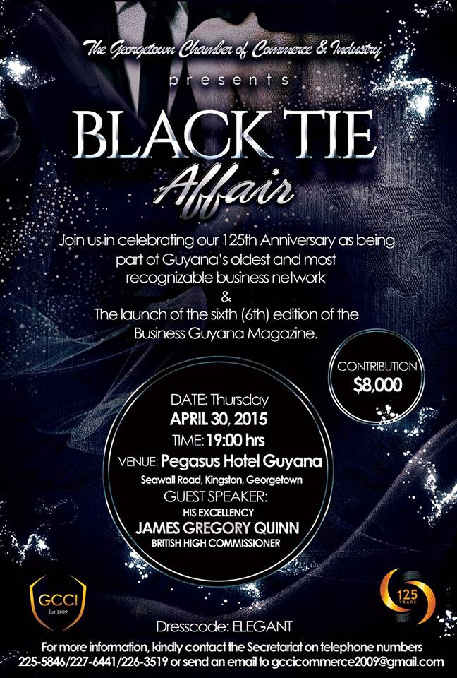 black tie affair