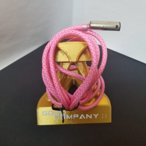 Send In :: Neon Pink Diamonds Swappable Paracord (uses your plug)