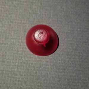Transparent Red Resin C-Stick