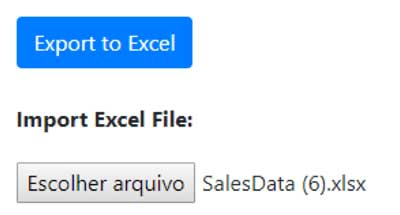 Adding Excel Import and Export to a React App