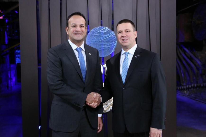 Primer Ministro Irlandes-Primer Ministro Estonia