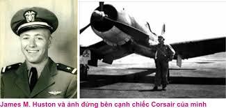 James Hudson y su Corsair
