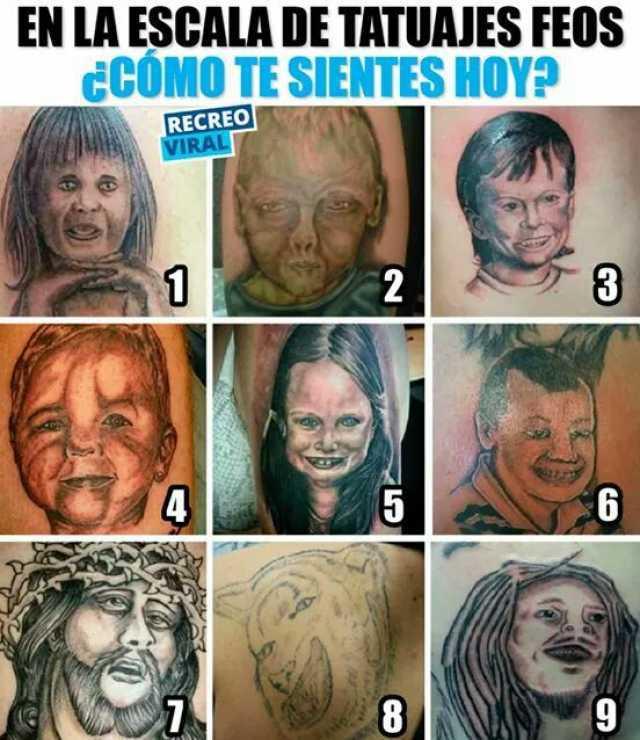 Memes Sobre Tatuajes Feos
