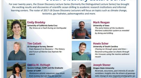 Prof Cecilia McHugh of @GC_CUNY @QC_News @GCsciences named #OceanDiscovery Distinguished Lecturer!