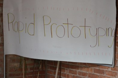 Welcome to the Rapid Prototyping class!