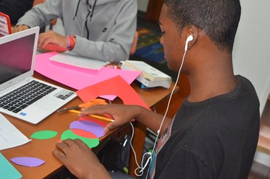 Focused. Creating Venn diagrams in Stories.