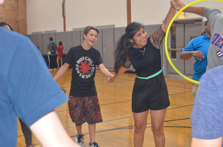 Pass that hula-hoop.