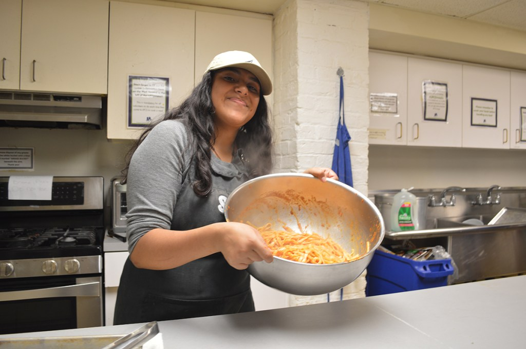 Lunch is Served @ Lincoln Park Community Shelter