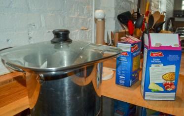 Watched pot never boils.