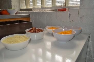 An organized kitchen.