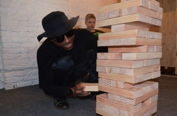 If you can play Jenga with sunglasses on, you can do anything.