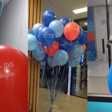 Grupo Cene espalha balões com mensagens sobre prevenção à Covid-19