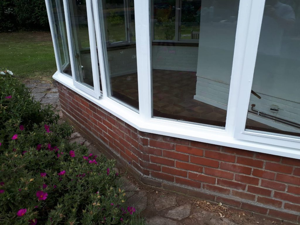 Completed Conservatory Restoration Repair