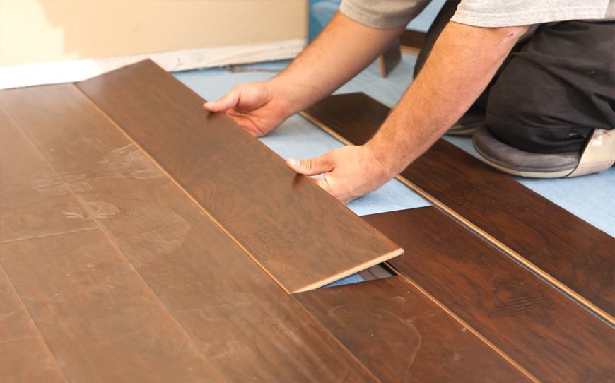 Choosing subfloor for hardwood tile and laminate floors