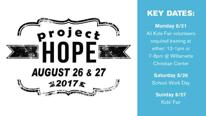 Project Hope 2017