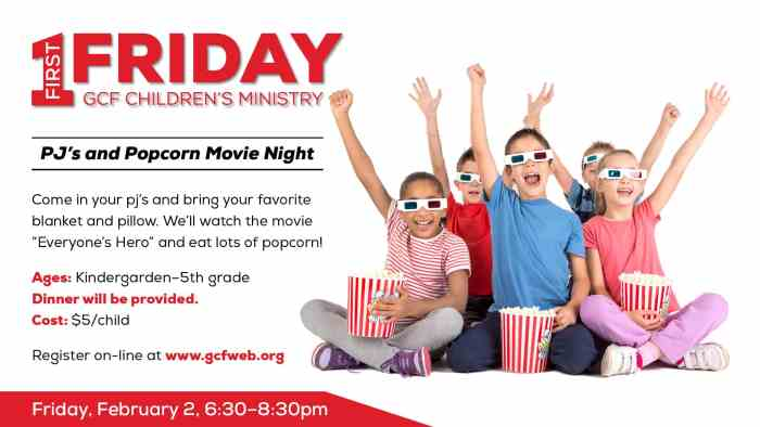 First Friday Movie Night