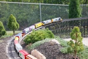 The convention car train.