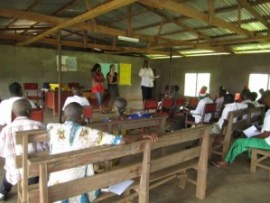 Workshop in Mofako Bekondo, 2011