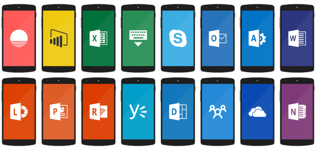 Office 365 apps for Android