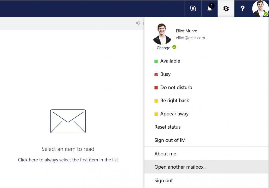 How to easily set Automatic Replies (Out of Office) on