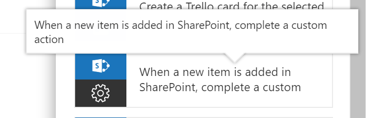 Complete Custom Action On SharePoint Item In Microsoft Flow