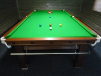 pool table setup