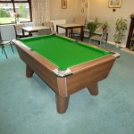 Retirement Complex Supreme Winner 6ft Pool Table Re Cover In 6811 Strachan Cloth In Derbyshire Gcl Billiards