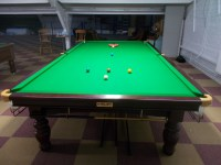 Full size Riley Aristocrat Tournament Snooker table set up ...