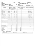 Mechanical Pump Specifications