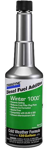 Stanadyne Winter 1000 Formula Fuel Additive Bottle