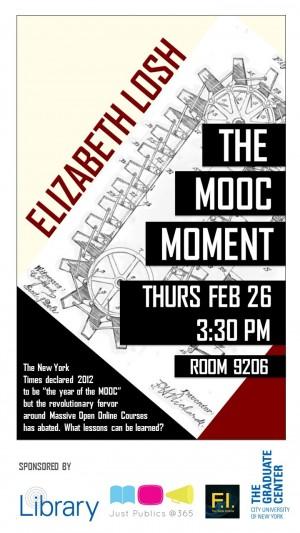 Liz Losh, MOOC Moment poster
