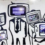 Image of Media Wall at Mills Memorial Library, McMaster University
