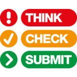 Think Check Submit logo