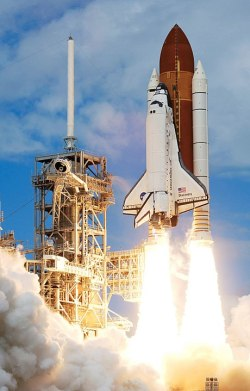 Image of the Space Shuttle Discovery