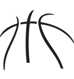 basketball logo clipart [ 1000 x 1000 Pixel ]