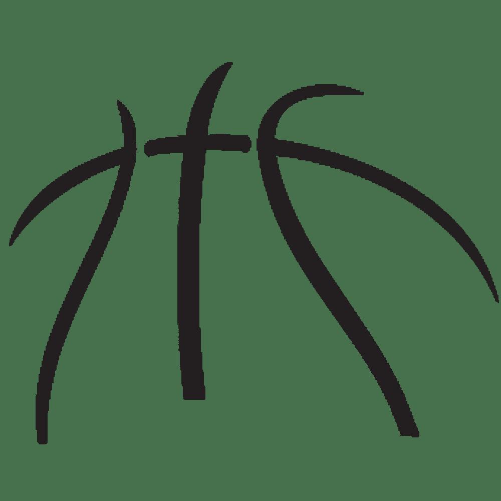 medium resolution of basketball logo clipart