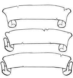 scroll clip art 5 [ 889 x 898 Pixel ]