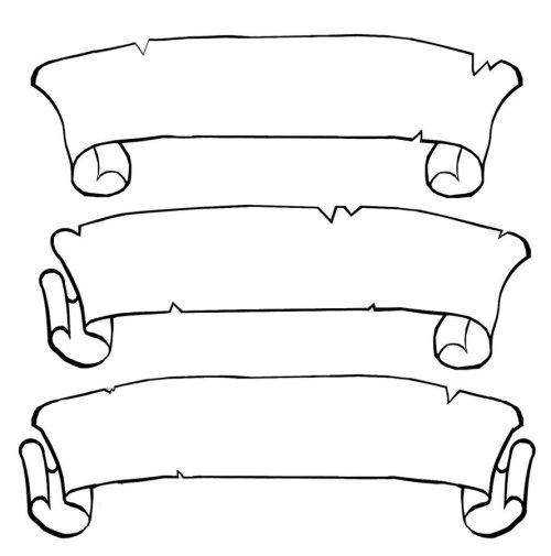 small resolution of scroll clip art 5
