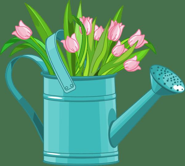 april flowers clip