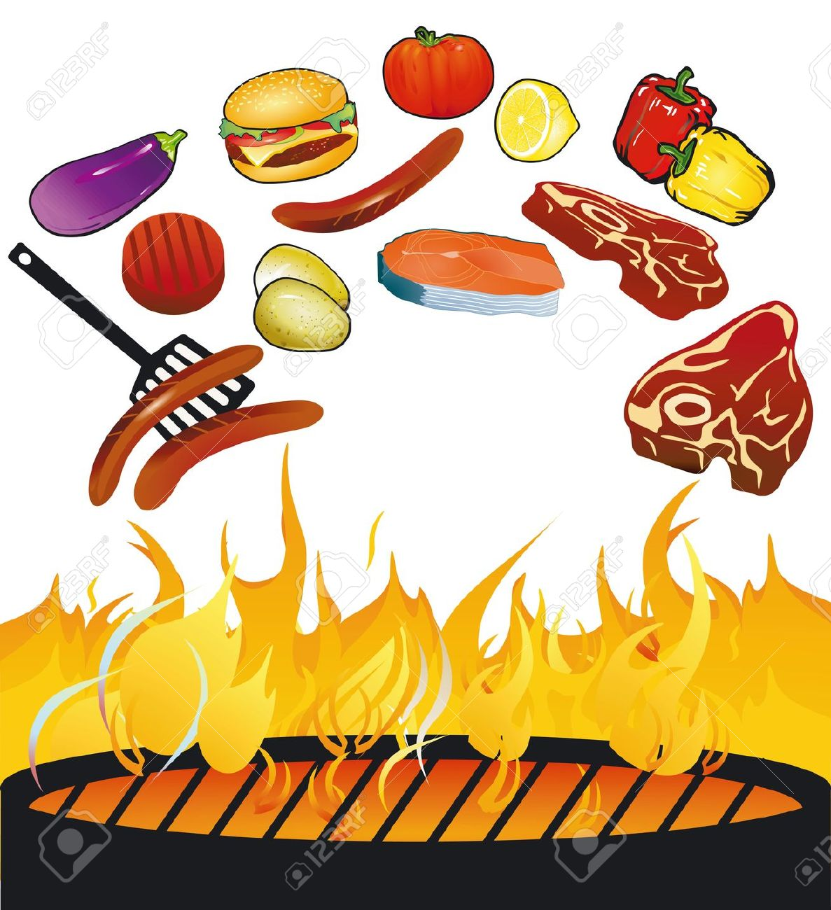 hight resolution of clipart of bbq grill