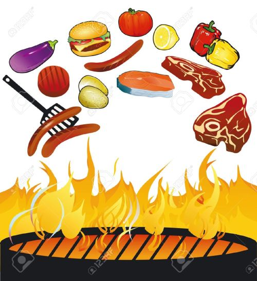 small resolution of clipart of bbq grill
