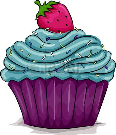 cupcake clipart 3