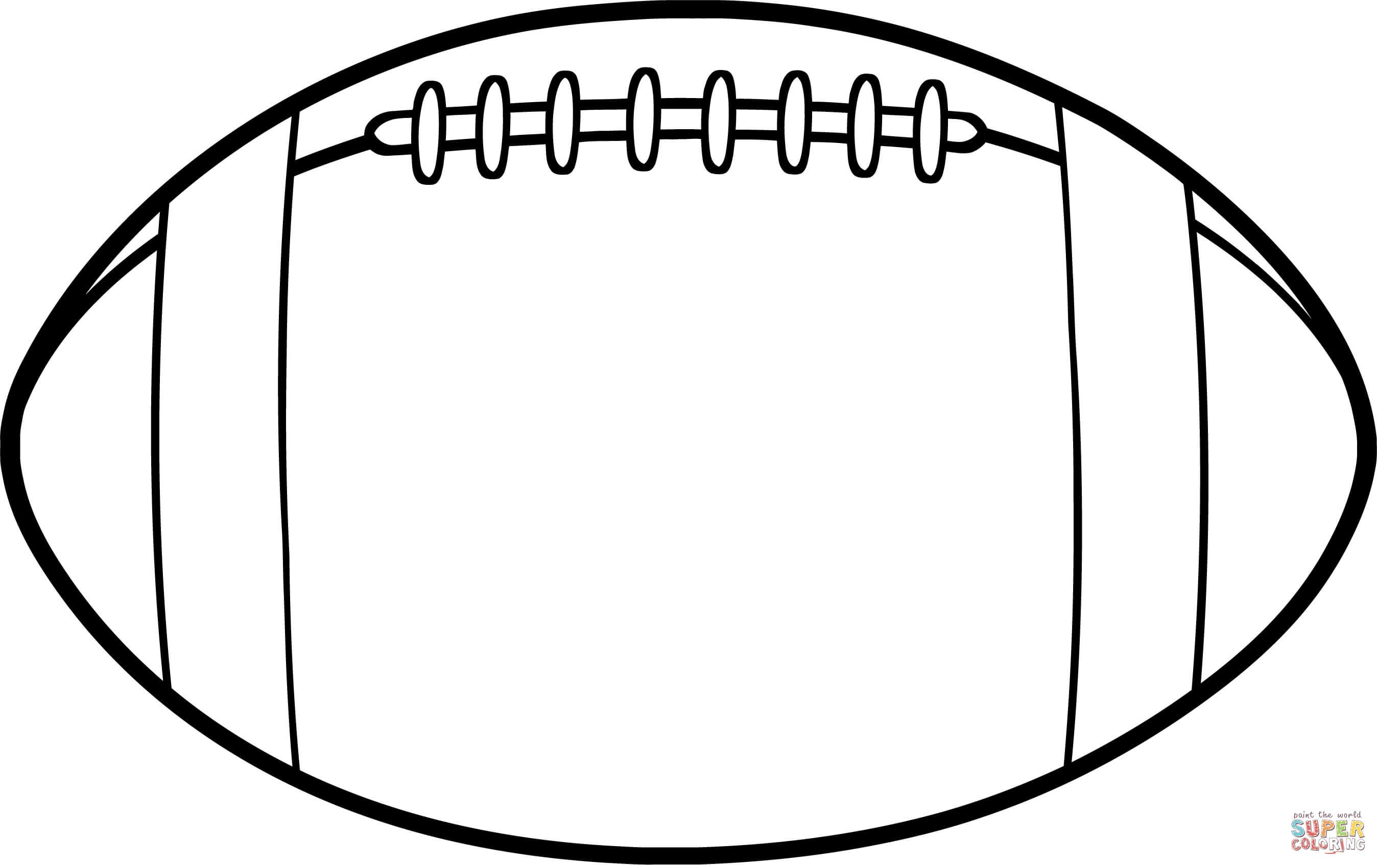 Football Outline Gclipart