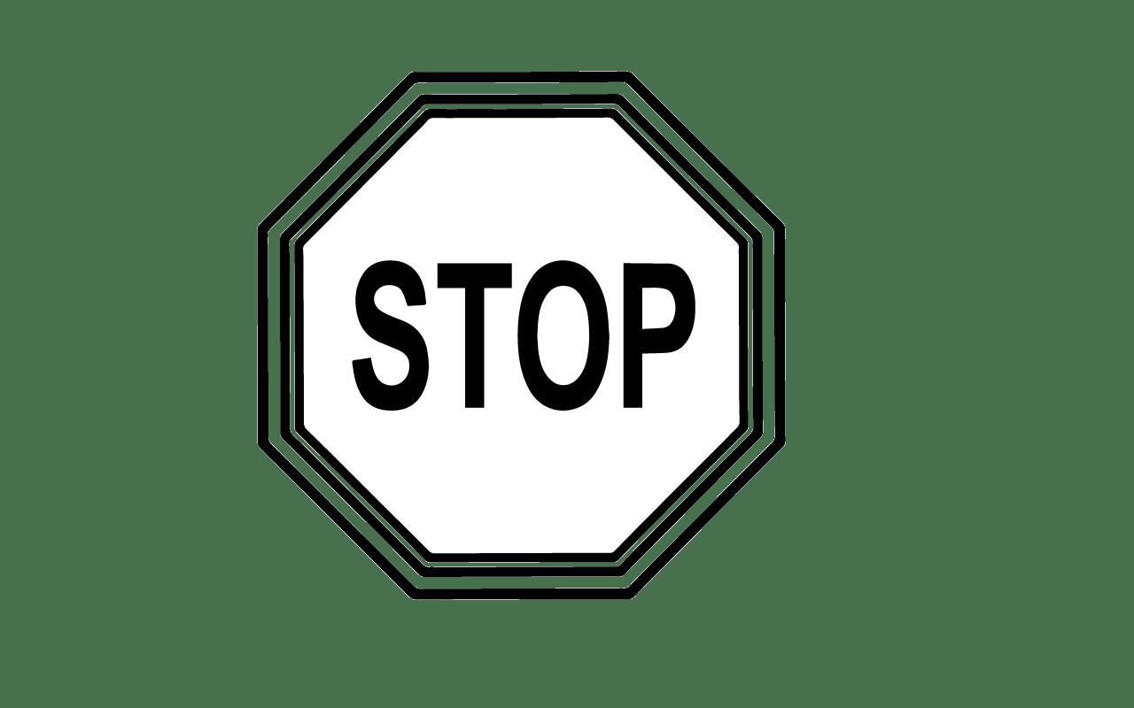 Stop Sign Clip Art Gclipart