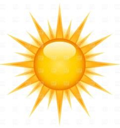 free vector sun clipart 2 [ 1200 x 1200 Pixel ]