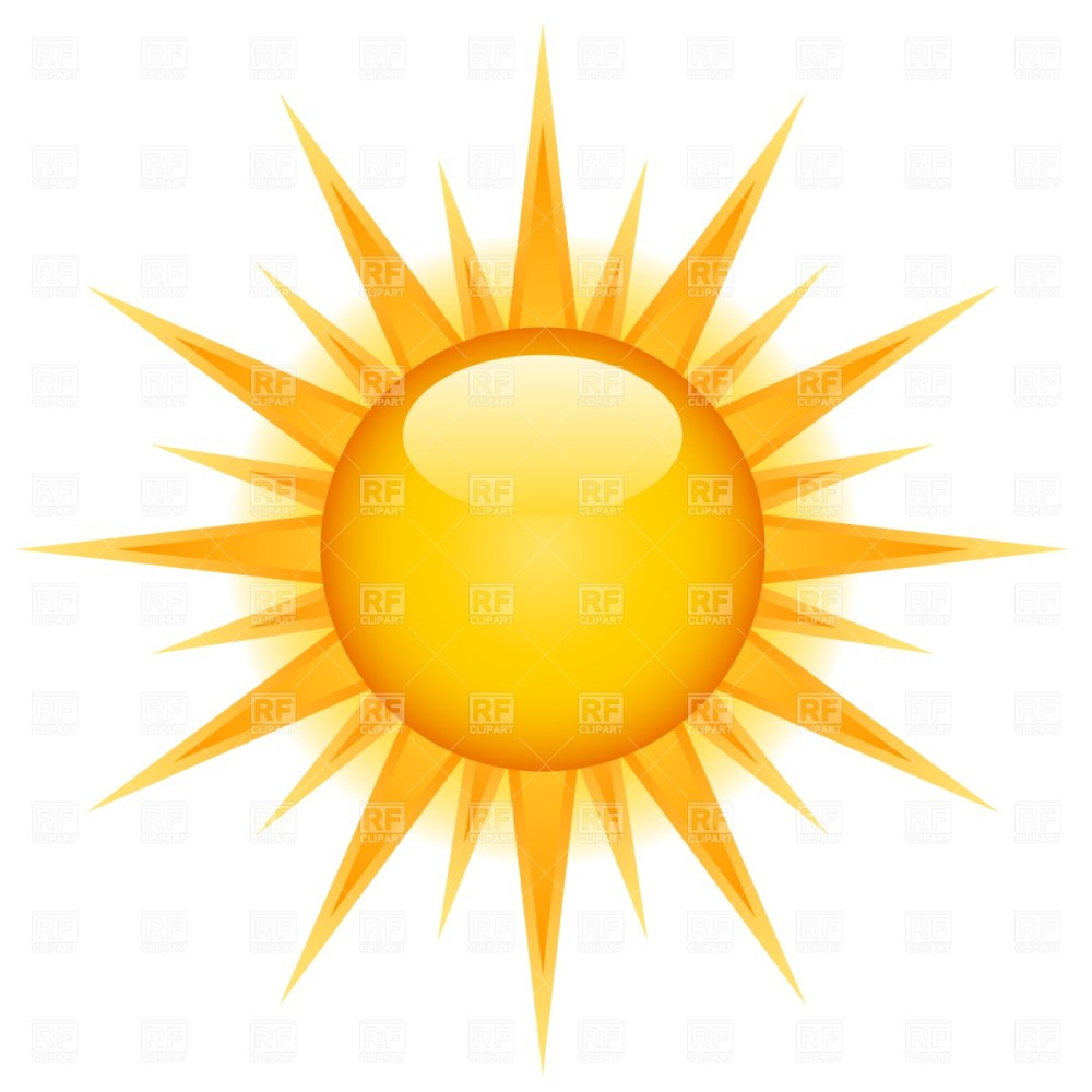 medium resolution of free vector sun clipart 2