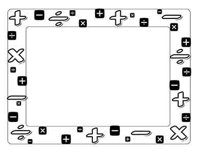 Math black and white math clip art black and white dfiles