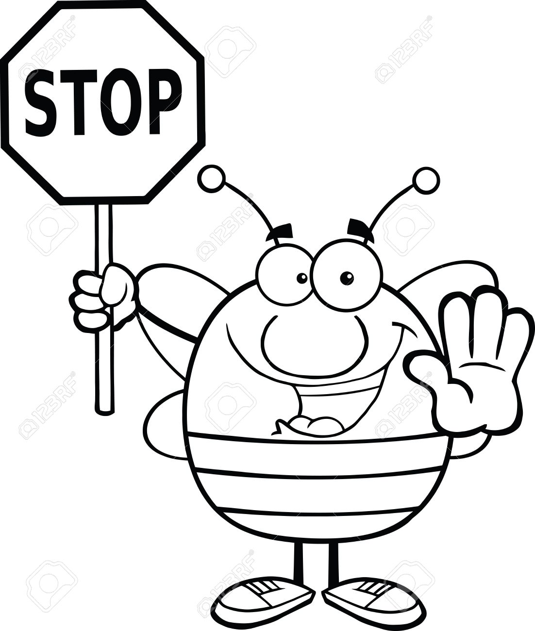 Stop Sign Stop Symbol Clipart Free To Use Clip Art