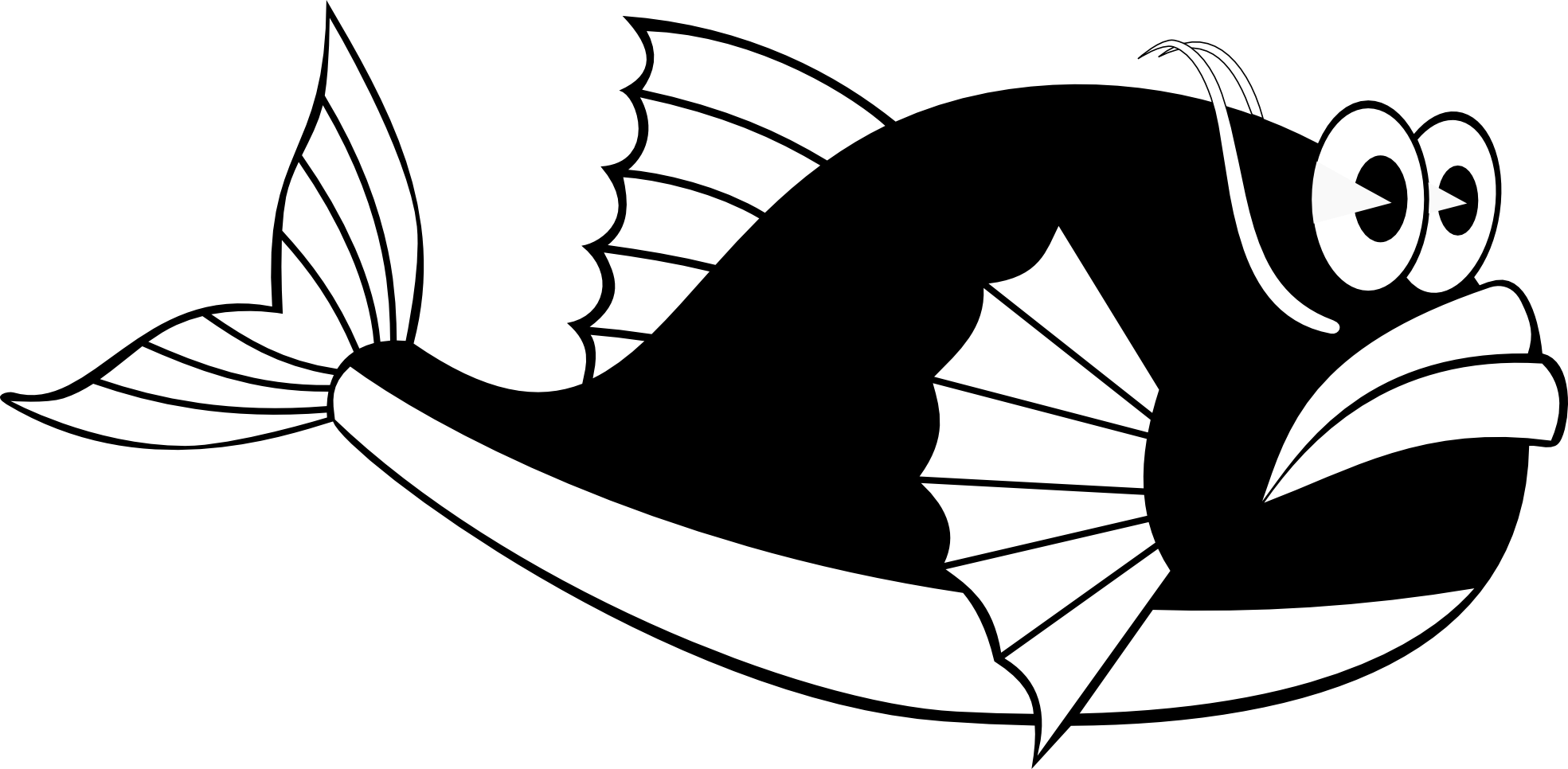 Whale Black And White Whale Silhouette Clipart Gclipart