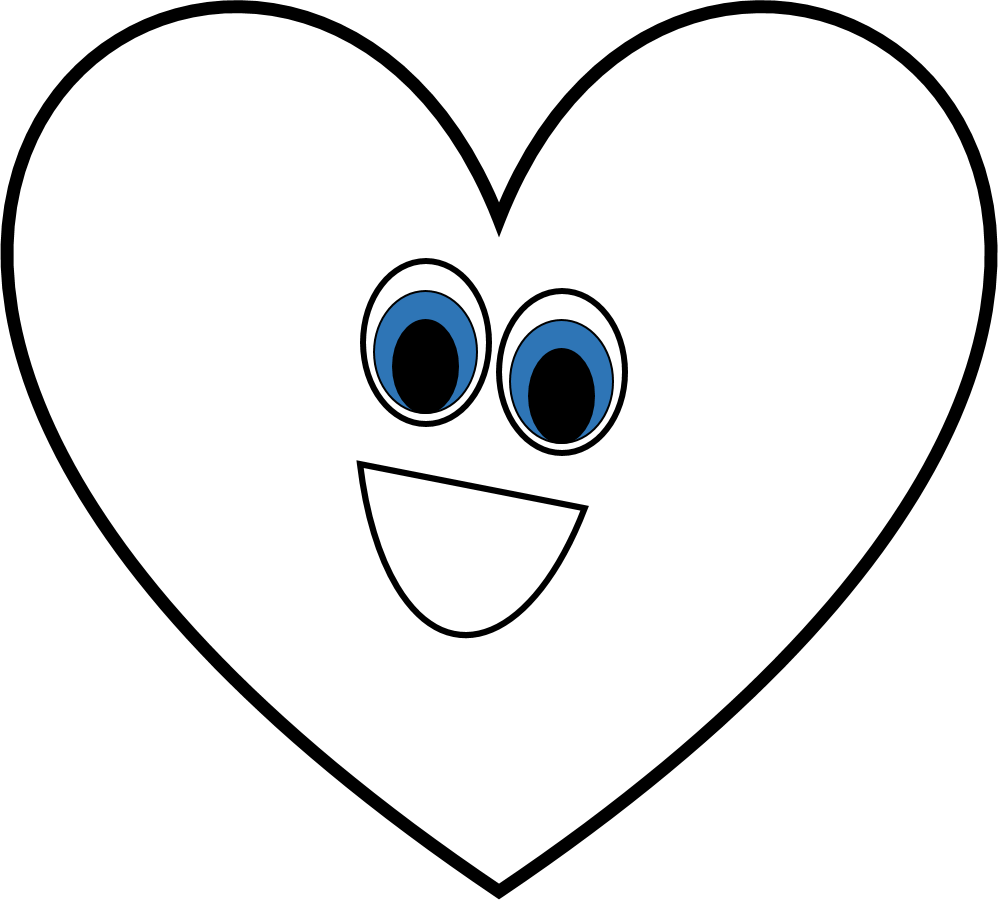 medium resolution of heart black and white black and white heart shape clipart